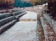 Sistemazione idraulica con gabbioni canale Seneta tratto di Castelvenere (CE)