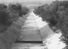 Costruzione del canale Forma Provincia di Caserta
