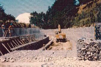 Sistemazione idraulica in aree irrigue 1° lotto canale Seneta tratto di Telese (BN)