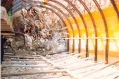 Imbocco artificiale della galleria idraulica di Vairano (CE)